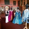 Costume Display at Raby Castle