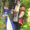 Henry and Queen in Arbour