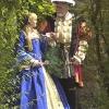 Henry and Queen in Garden