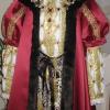 Henry VIII Burgundy Robe