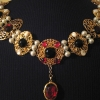 Gold Chain of Office set with Rubies