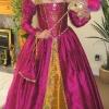Pink Silk 'La Reine Margot' French Gown