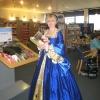 Anne Boleyn reads about the Tudors