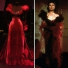 Red Velvet Gown from 'Gone with the Wind'