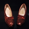 Dorothy's famous Ruby Slippers from 'The Wizard of Oz'