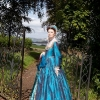 Mary Queen of Scots in gardens of Lauriston Castle