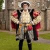 Bluff King Hal visits Lauriston Castle