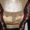Detail of Anne of Cleves Gown from The Tudors
