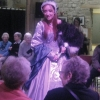 Queen Jane Seymour Silver Silk Gown