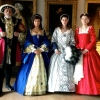 Royal King and Queens in Costume