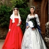 Queen Jane Seymour and Mary Queen of Scots in her Execution Gown