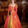 Orange Masquerade Gown