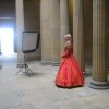 Fashion from the Past Photo Shoot Belsay Hall Northumberland