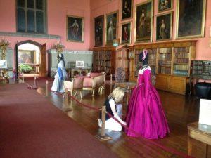 Raby Castle Tudor Costume Display