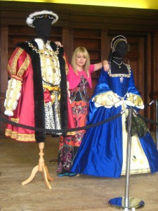 Costume Display at Belsay Hall