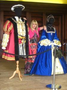 Costume Display at Belsay Hall