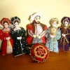 King Henry with Queens and Tudor Rose