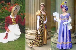 Regency Costume Display