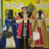 Henry VIII with Costumes for Anne Boleyn and Elizabeth I