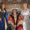 King Henry VIII with Anne Boleyn and Jane Seymour