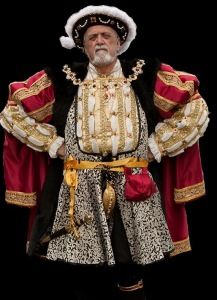 Mick as King Henry VIII