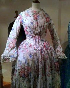 Floral Muslin Dress