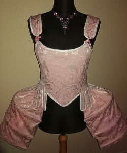 18th century Corset and Side Panniers