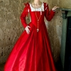 Mary Queen of Scots Execution Gown at Belsay Hall