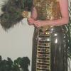 Gold Cleopatra Masquerade Costume 2