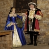 Henry and Queen in Great Hall