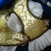 Slashed Tudor Sleeve with Silk Puffs