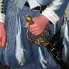 Blue Damask Breeches