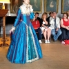 Mary Queen of Scots Peacock Blue Gown