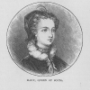 Mary Queen of Scots Engraving