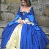 Anne Boleyn Blue Silk Gown