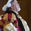 King Henry VIII in Full Regalia
