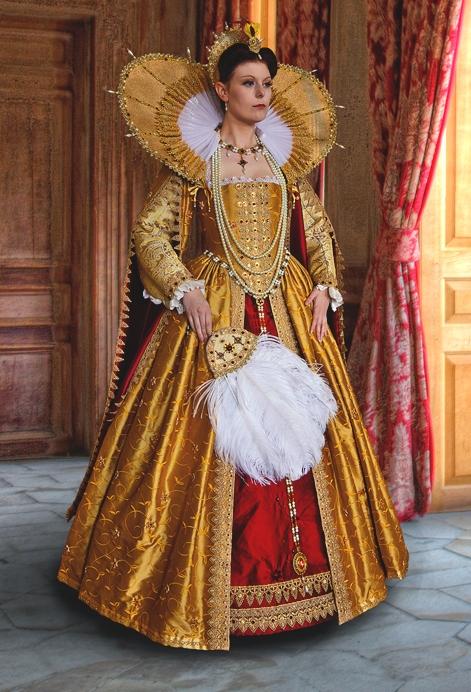 Elizabeth I Gown - Julia Renaissance Costumes