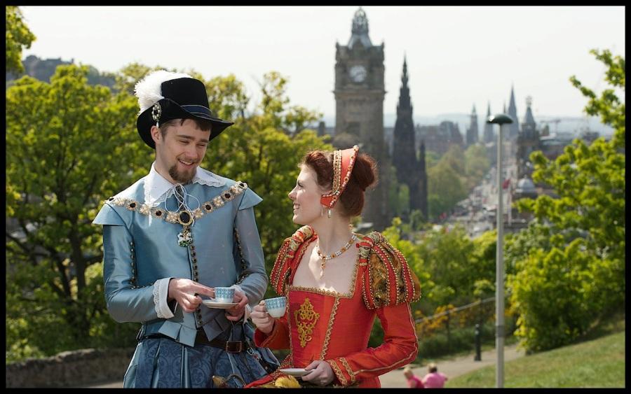 Renaissance Fashion Show Edinburgh Sunday 15th May - Julia