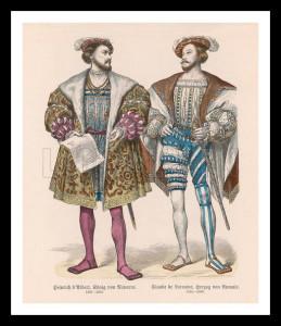 Tudor Costume Early C16