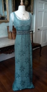 Lady Sybil Blue Evening Dress