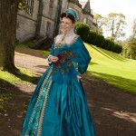 Mary Queen of Scots Blue Gown