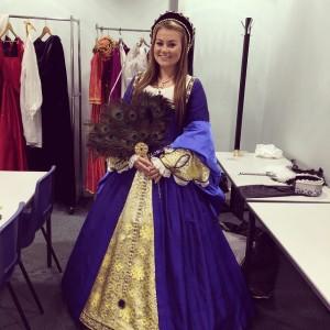 Rachel as Anne Boleyn