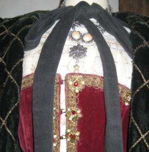 Anne Boleyn Bodice Close Up