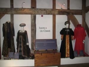 Barley Hall costume Exhibition