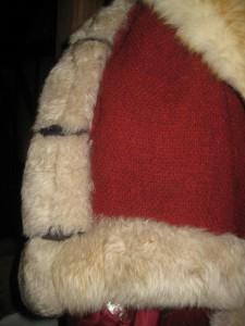 Duke of Norfolk Robe Fur Edge with cord ties