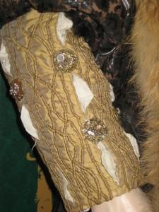King Henry VIII Doublet Sleeve Detail