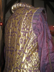 Young King Henry VIII Doublet Back
